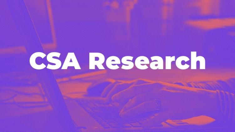 Le classement de CSA Research - le groupe Tradutec au 17e rang