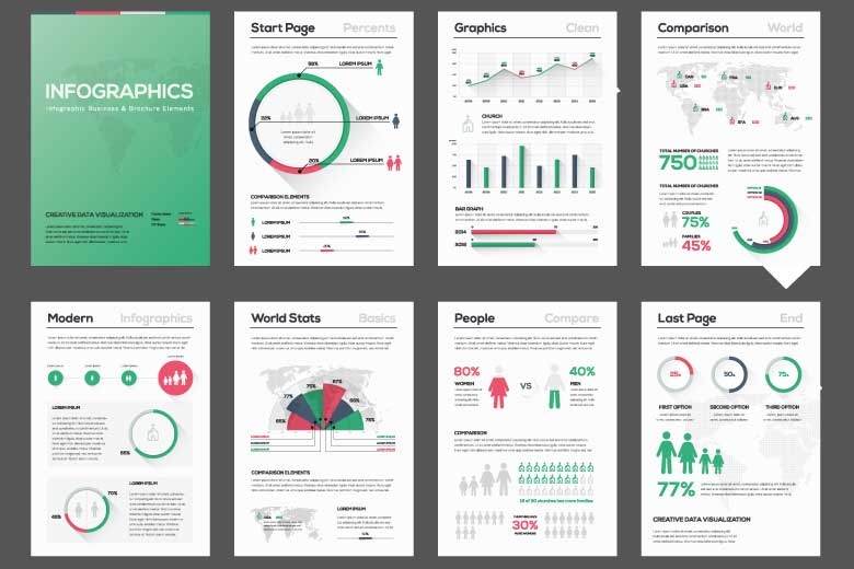 Exemples d'infographie